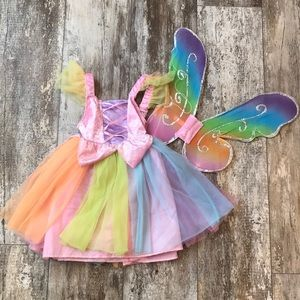 SMALL FAIRY COSTUME FOR LITTLE GIRLS RAINBOW